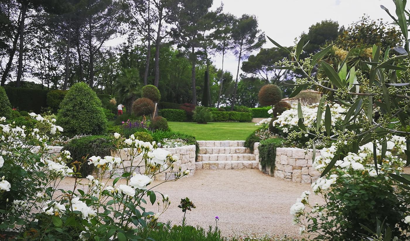 Création de jardin à Mougins